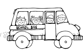 Small Picture Free Printable School Bus Coloring Pages For Kids