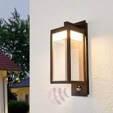 ferdinand motion sensor outdoor wall lamp led 9619150 33