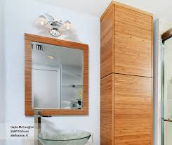 natural bamboo bathroom cabinets