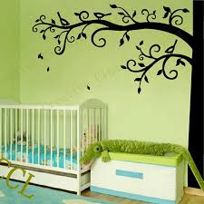 corner tree wall decal nursery wall decoration extra large tree sticker photo hanging decal fairy wall decals fairy wall stickers from bright689