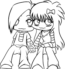 Small Picture Free Printable Emo Coloring Pages For Kids Best Coloring Pages