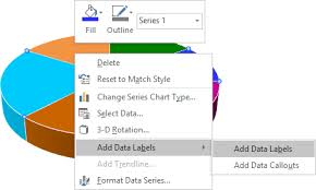Add Data Series To Excel Chart Excel 3 D Pie Charts Microsoft Excel 2016