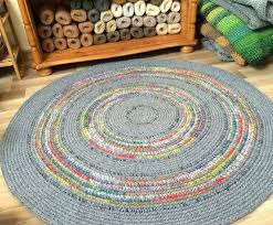 round childrens rugs made to order crochet rug beautiful grey with refreshing color accents uk round childrens rugs