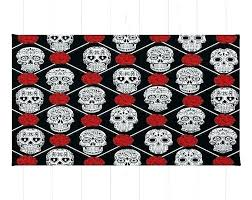 luxury sugar skull rug for unique sugar skull rug for skull rug black sugar skull throw
