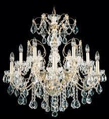 schonbek 1712 49 century 12 light black pearl crystal chandelier undefined