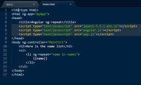 Angular-JS ng-repeat Directive - GeeksforGeeks