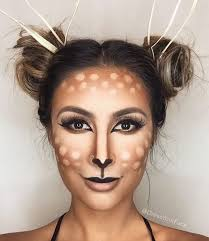 pretty deer makeup dyf