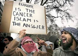 Image result for muslim immigration in Europe images