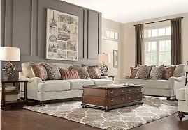 complete living room sets. cindy crawford home bali breeze taupe 3 pc living room complete sets r