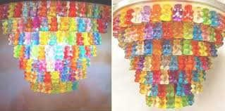 30 creative diy lamps and chandeliers you can make using everyday pertaining to gummy bear