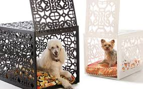 furniture style dog crate. Bespoke Dog Crates - Ultra Luxury For A Stylish Home Modern And Contemporary Pet Products Updated Daily CoolPetProducts.com Furniture Style Crate