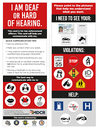 State Helps Deaf Drivers Police Communicate