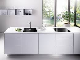 Kitchen Decorate Your Sweet Kitchen Design With Cool Blanco Sink