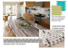 update the backsplash has been chosen want to see what it is