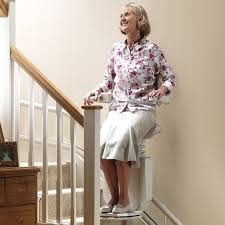 standing stair lift. Supported Standing Position Stairlift Sadler Stannah Usa Stand Up Stair Lifts Interior Design Ideas Lift E