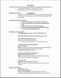 Government Job Resume Template. Federal Resume Sample And Format