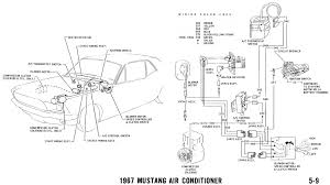 mustang wiring and vacuum diagrams average joe restoration 1967 mustang air conditioner pictorial and schematic