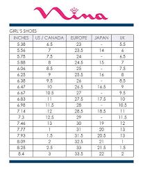 Geox Baby Size Chart Nina Kids Size Chart Google Search Size Chart For Kids