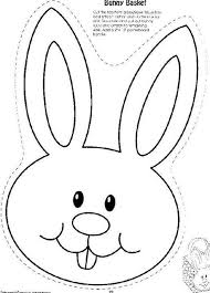 Bunny Head With Ears Coloring Page Google Search Embroidery