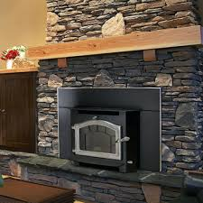 fireplace insert wood menards inserts burning s