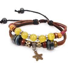 unique retro multi cow leather bracelets for girls bracelet watches for women p4