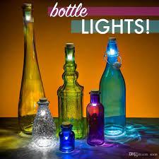 Wine Bottle Lamp Diy Best Creative Wine Bottle Light Cork Rechargeable Usb Bottle Caps