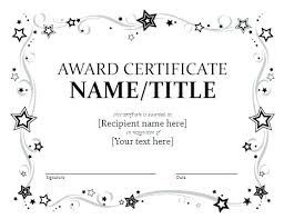 Most Likely To Award Template 1 Boss Best Award Certificate Great Spots Thestunt Co