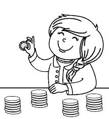 money coloring pages money coloring pages with a girl play money coloring sheets