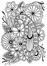 Dahlia Flower Flowers Adult Coloring Pages Books For Adults Book