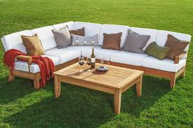 beautiful 5 piece a grade teak dining patio set pool set 2 loveseats 1 corner piece 1 armless chair and 1 coffee table