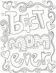 Click on your favorite mother's day themed coloring page to. Mothers Day Coloring Pages Doodle Art Alley