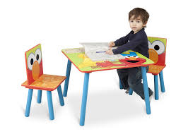 Table Set For Kids Sesame Street Table Chair Set Delta Childrens Products