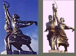 """Résultat de recherche d'images pour """"l'ouvrier et la kolkhozienne"""""""