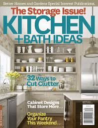 Kitchen Magazine Kitchen Bath Ideas Magazine To Unveil 30 Most Innovative Products