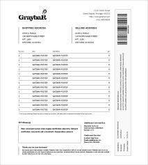 Sample Packing Slip Form Packing Slip Sample 6 Documents In Pdf