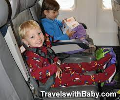 toddler from kicking the airplane seat