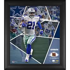 Edition Fanatics Football Impact Framed Cowboys Piece 17