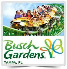 busch gardens ticket. Brilliant Busch Busch Garden Tickets For Sale In Tampa FL Intended Gardens Ticket P