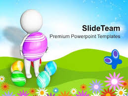 Surprises Are Waiting For Easter Powerpoint Templates Ppt