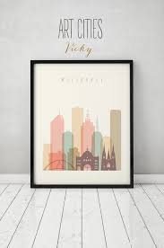 melbourne print poster wall art australia melbourne skyline city poster typography art home decor digital print art prints vicky  on home decor wall art au with melbourne art print poster wall art australia melbourne skyline