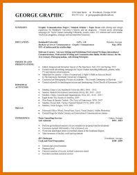 Resume Templates College Student 9 10 College Grad Resume Templates Juliasrestaurantnj Com