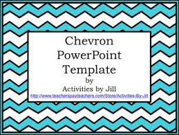 Powerpoint Chevron Template Chevron Powerpoint Template By Activities By Jill Tpt