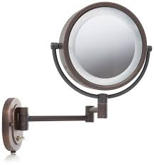 lighted makeup mirror amazon. amazon.com : jerdon hl65c 8-inch lighted wall mount makeup mirror with 5x magnification, chrome finish personal mirrors beauty amazon 9