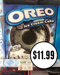 you can pick up carvel oreo ice cream cakes at a super right now at publix use the coupon bo to save 5 off a tasty cake