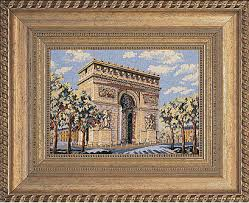 Custom framing ideas Wedding Invitation Framed Image Of Cross Stitch Landmark Nearsay Framing Services The Great Frame Up Carmel