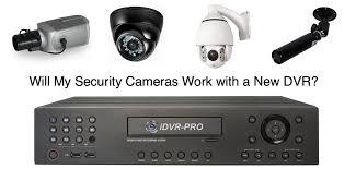 will my old cctv camera work a new hd surveillance dvr