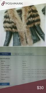 Faux Fur Jacket Faux Fur Jacket Look At Size Chart Size Xxl