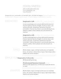 Resume Template Openoffice Resume Academic Resume Template For High ...