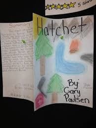 hatchet book cover final project focus on how to summarize