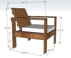 simple modern outdoor chair lounge